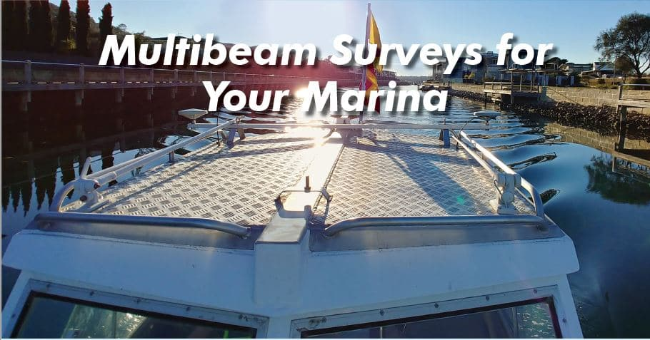 Multibeam Survey, Marina Survey, Pier survey